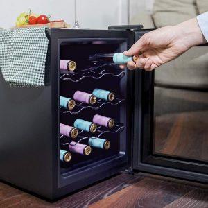 Le test de la cave à vin Cecotec