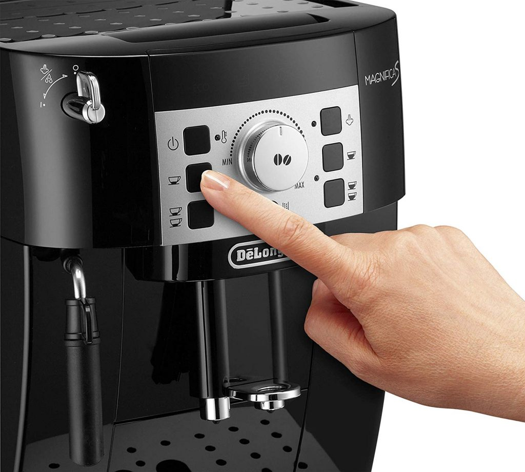 Le test de la machine expresso Delonghi