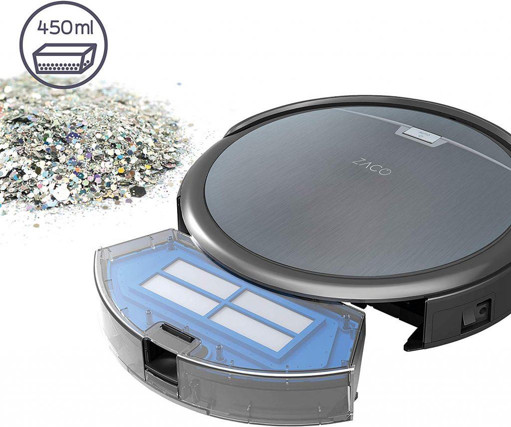 Les caractéristiques du robot aspirateur ZACO ILIFE0001-FR ILIFE A4s