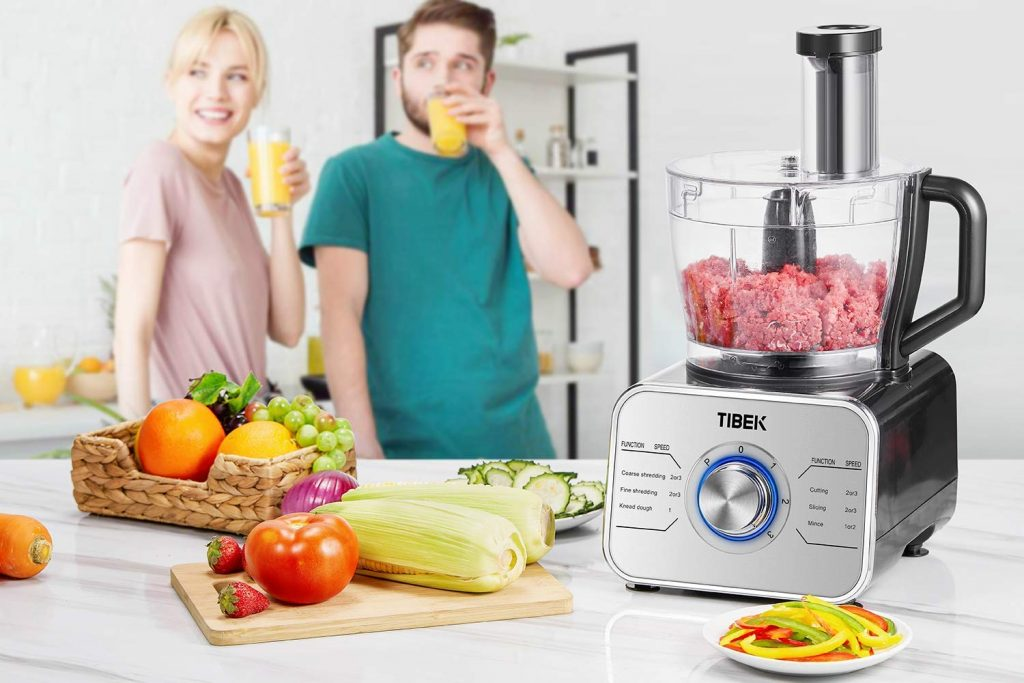TIBEK Robot de cuisine 1100W