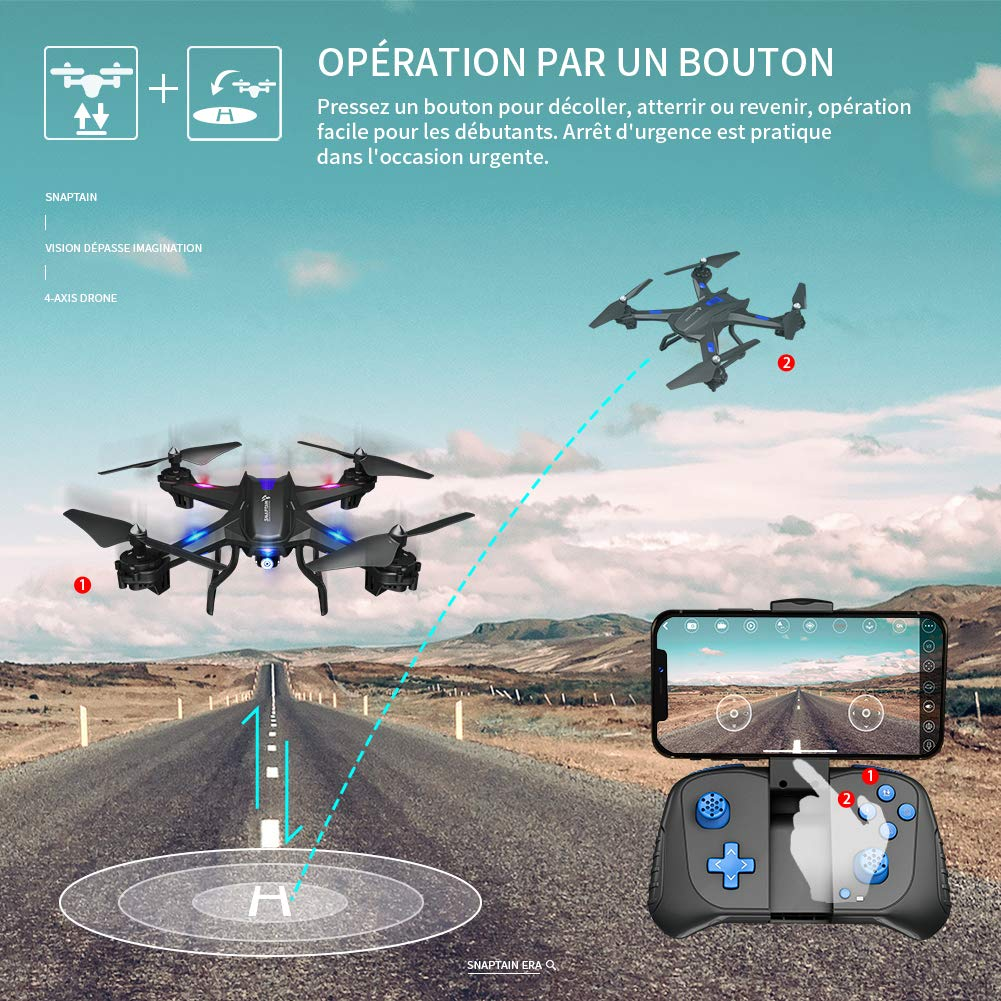 Les caractéristiques du drone SNAPTAIN S5C