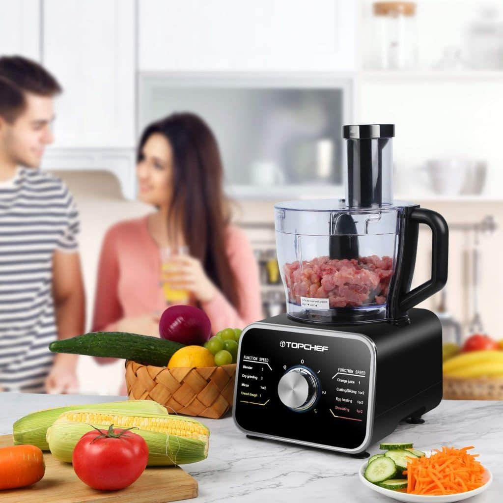Les caractéristiques de Robot culinaire Topchef 1100W
