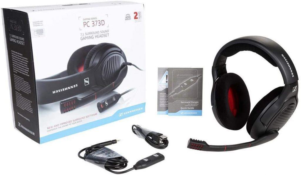 Les caractéristiques du Sennheiser PC 373D Micro-casque pour gamer