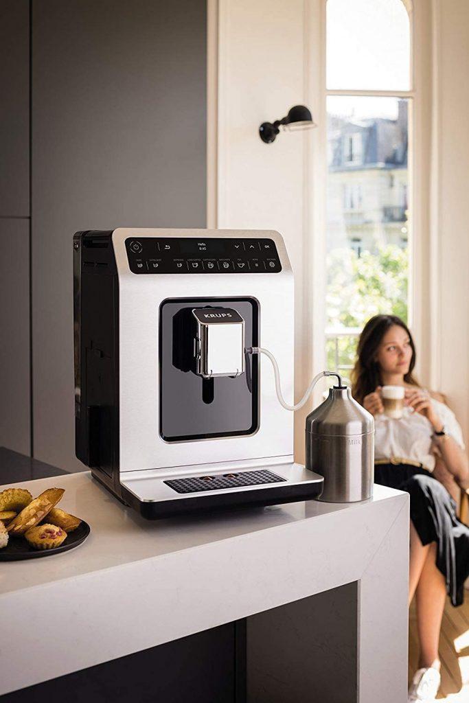Le test de la machine à café Krups EA891D10
