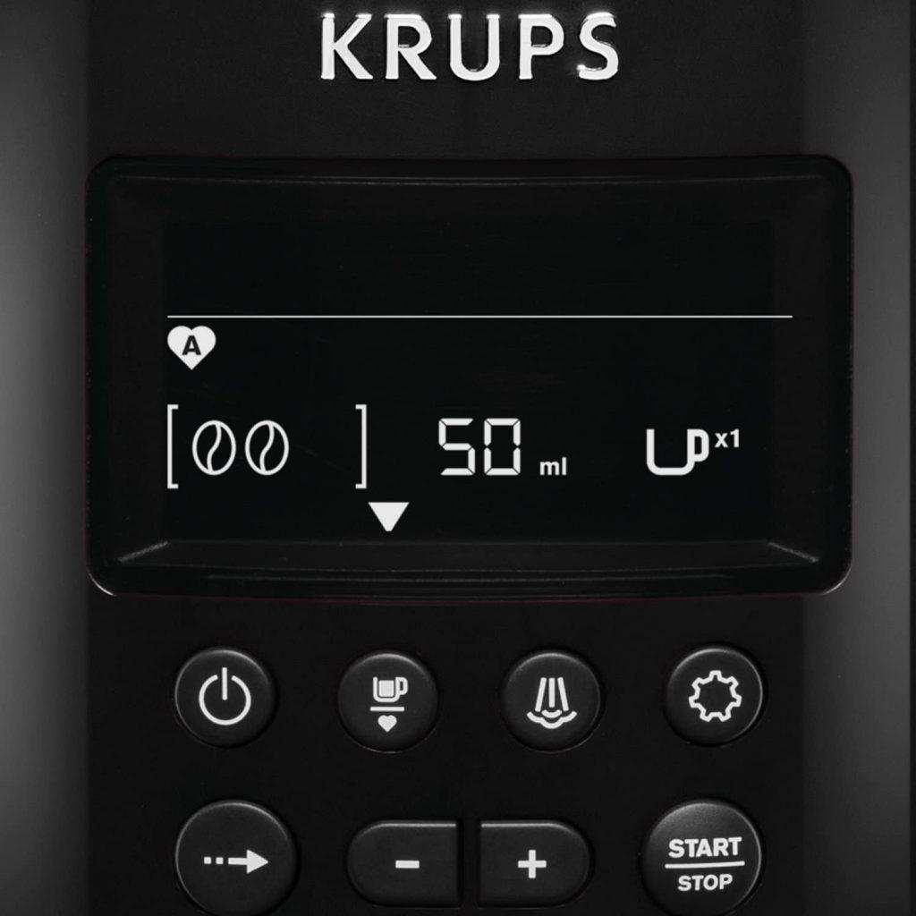 Le test de la machine à café Krups EA816031
