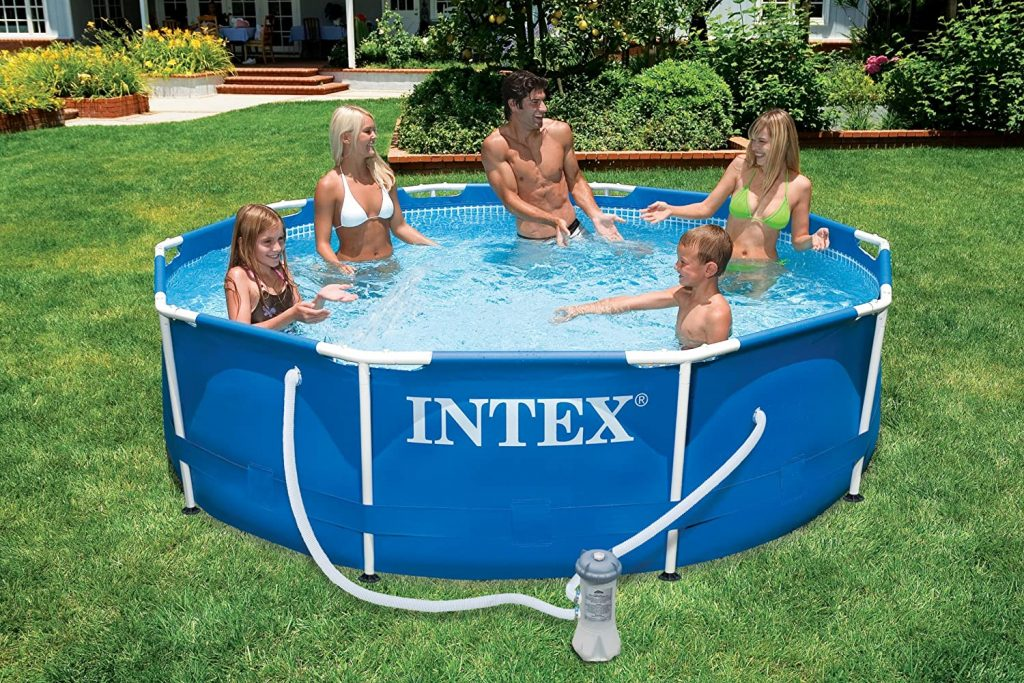 Le test de INTEX Kit piscinette Metal Frame ronde