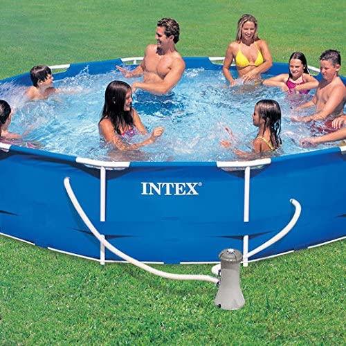 Les caractéristiques de INTEX Kit piscinette Metal Frame ronde