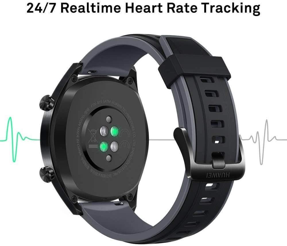 Les caractéristiques de Huawei Watch GT Montre Connectée