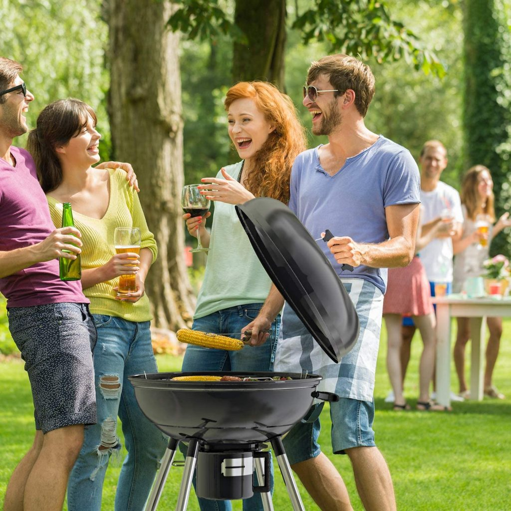 Le test de TACKLIFE Barbecue au Charbon de Bois CG02A