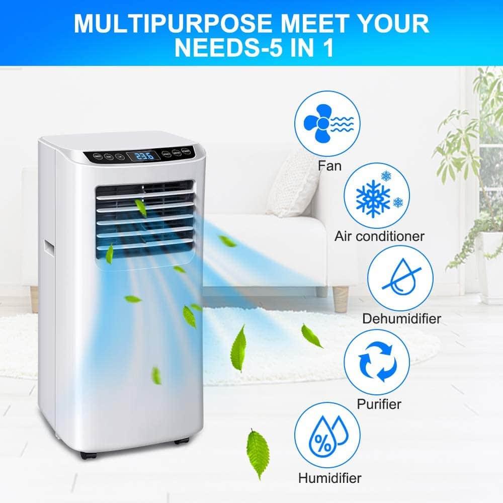 Le test du climatiseur mobile OZEANOS 7.000 Btu/h