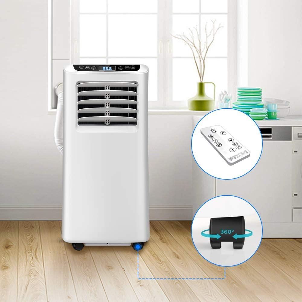 Les caractéristiques du climatiseur mobile OZEANOS 7.000 Btu/h