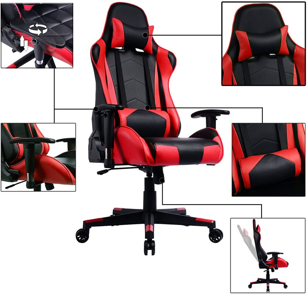 Le test de la chaise gaming PRISP