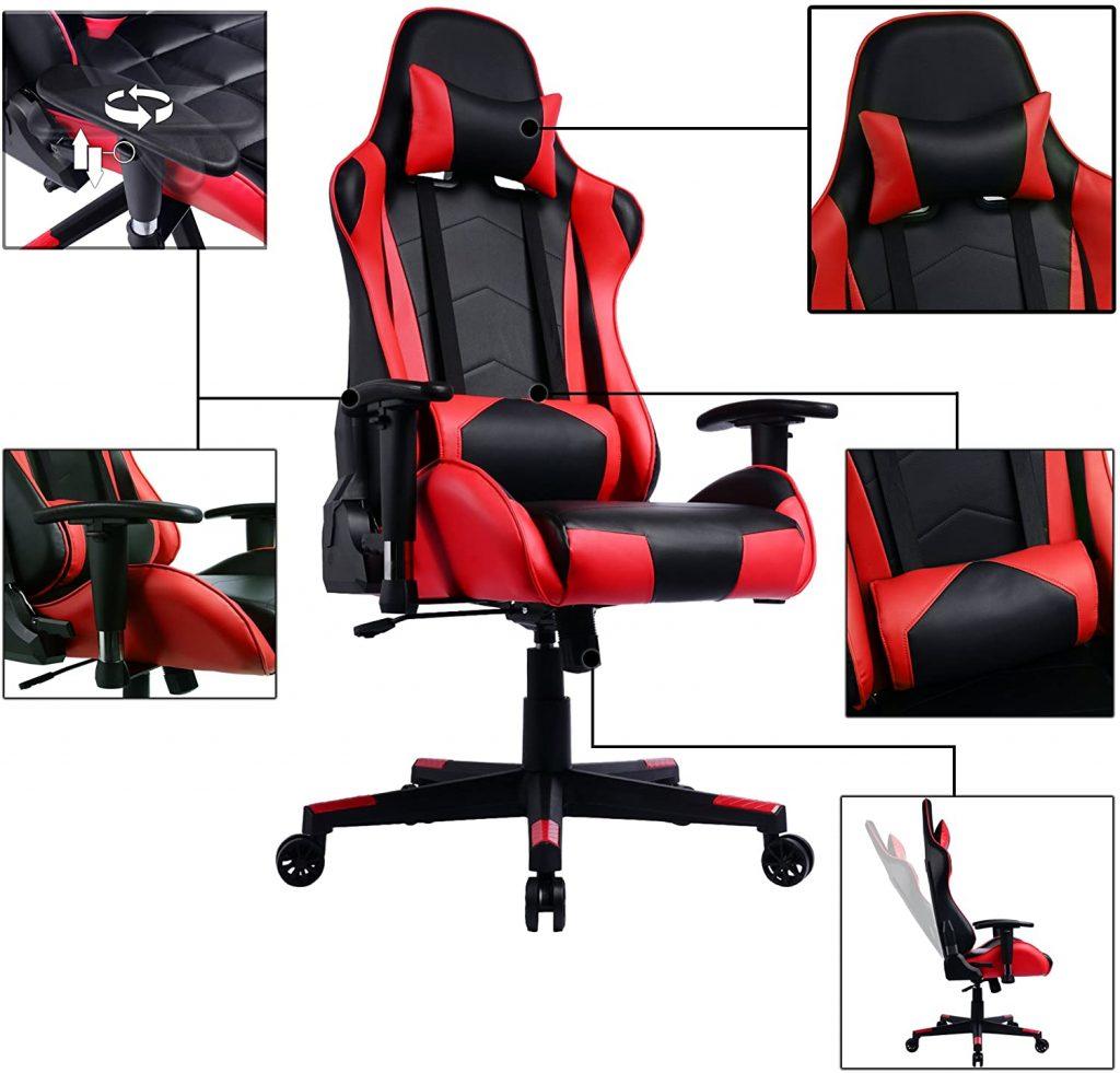 La chaise gaming PRISP