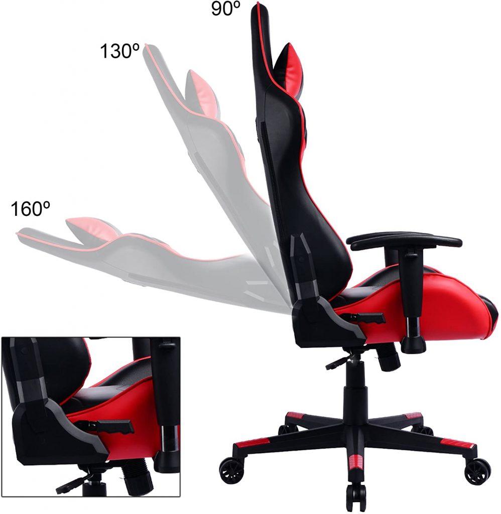 Les caractéristiques de la chaise gaming PRISP