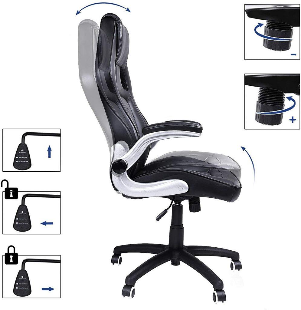 Les caractéristiques de la chaise gaming