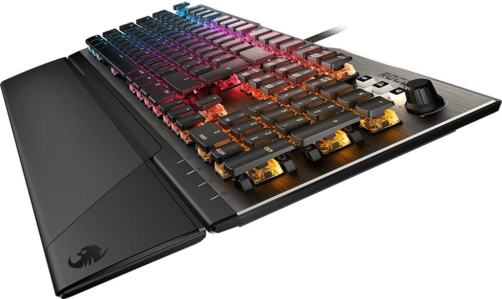Les caractéristiques de Roccat Vulcan 120 - gaming mécanique RGB