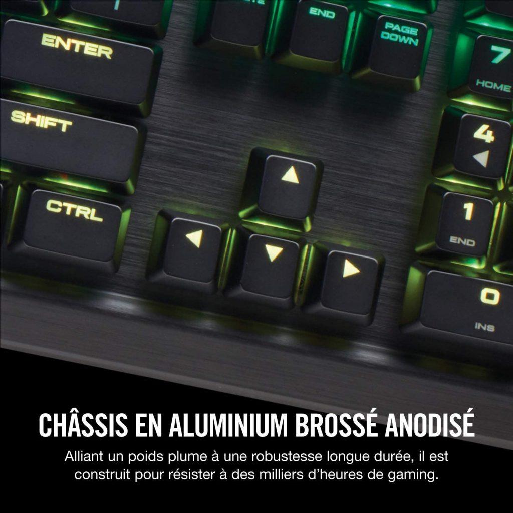 Le test du Corsair K70 RGB MK.2 Clavier Mécanique Gaming
