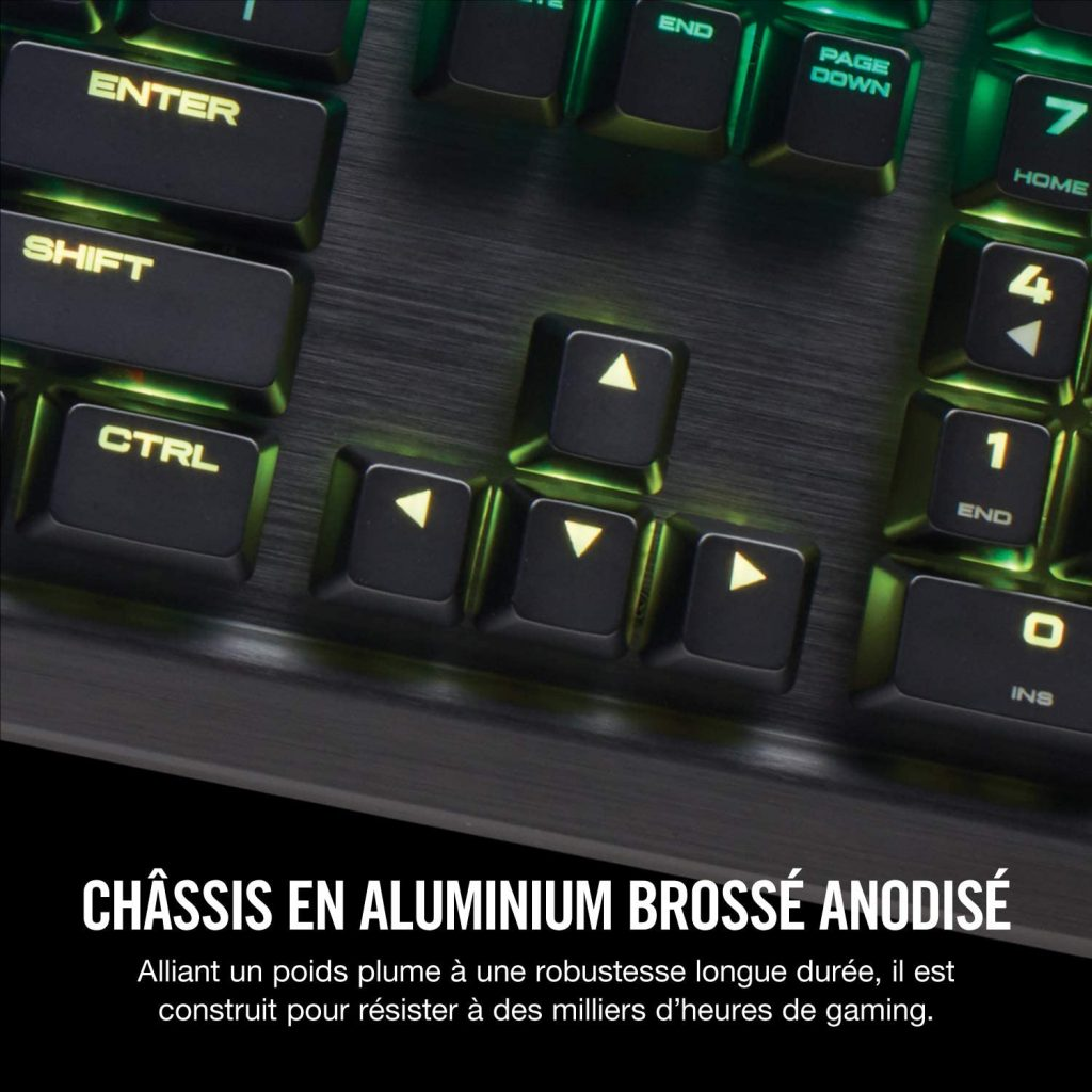 Corsair K70 RGB MK.2 Clavier Mécanique Gaming