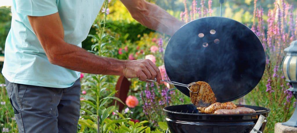 Les viandes au barbecue