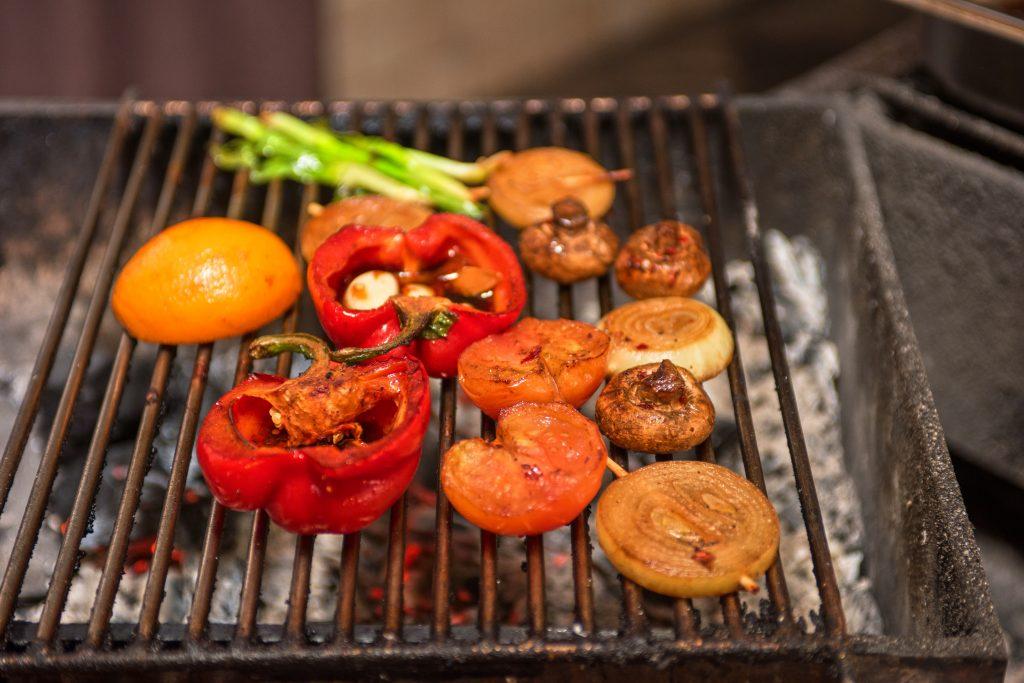 Les légumes au barbecue