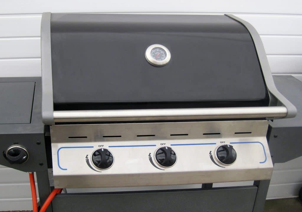 Le barbecue à gaz